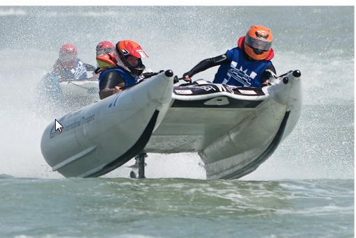 Inflatable Racing Boats