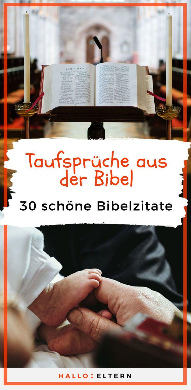 Taufsprüche Biblische Und Moderne Sprüche Zur Taufe Baby