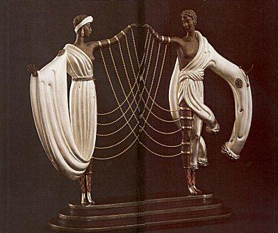 """The Wedding"" (Bronze)   by   Erte"