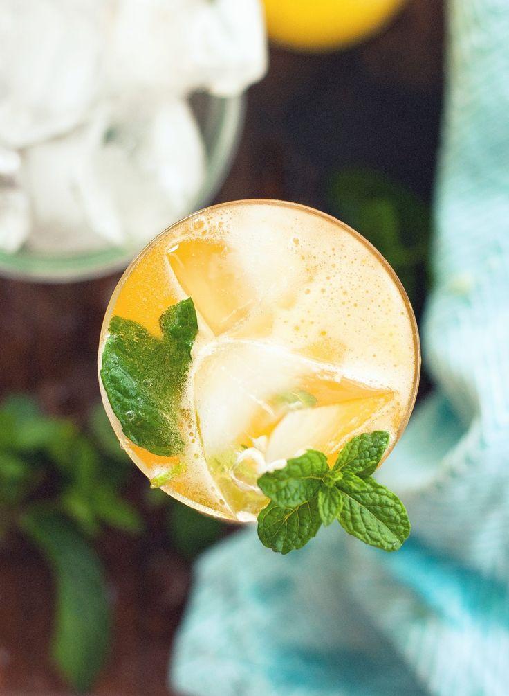 Passionfruit & Mint Soda Shandy