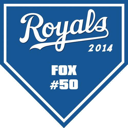 Royals Digitally Printed Vinyl Softball, Baseball And