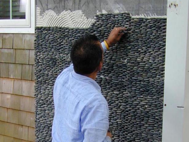 Only best 25 ideas about river rock shower on pinterest for Installing river rock tile