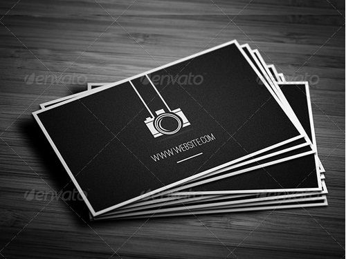 creative Photographer Business Cards