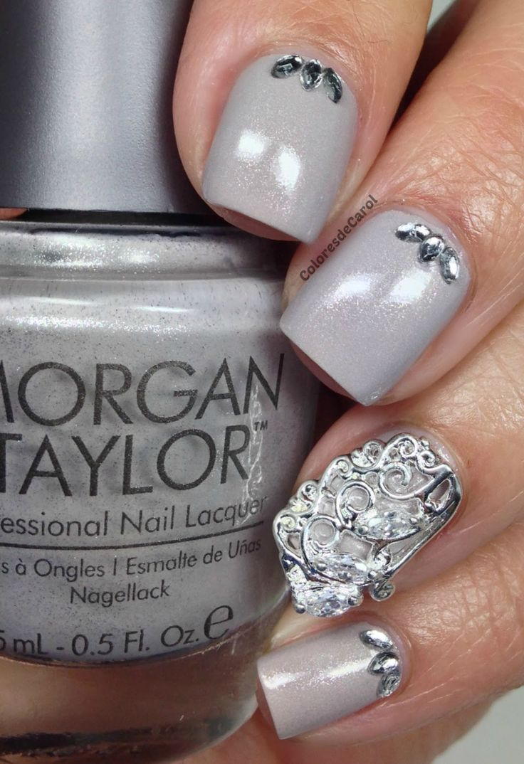 Colores de Carol: Morgan Taylor - Scene Queen, Bronzed and Beautiful and Adorned in Diamonds