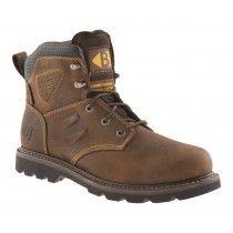 Buckler B1800 Non-Safety Lace Dealer Boots Dark Brown