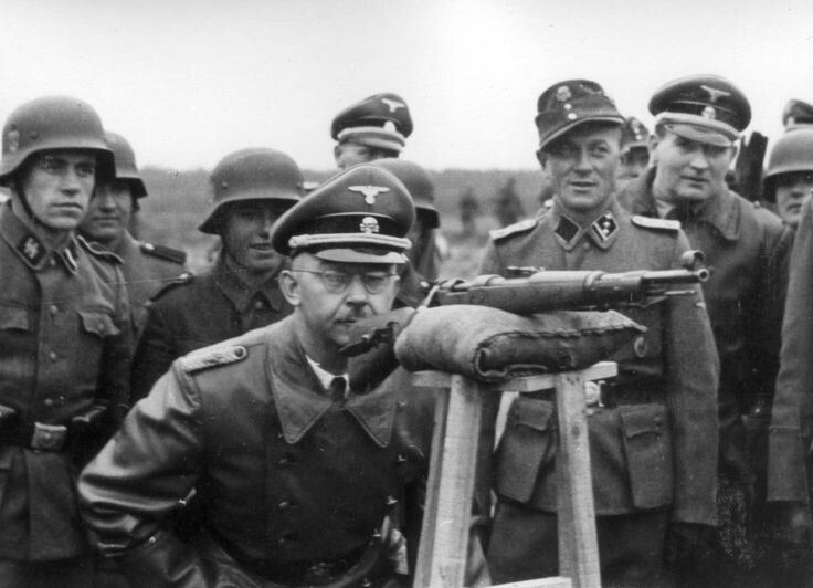an introduction to the life of heinrich himmler a german nazi police official Heinrich luitpold himmler  it was an early introduction into the life  the new fuhrer sent him away and with nowhere to go himmler wandered the german.