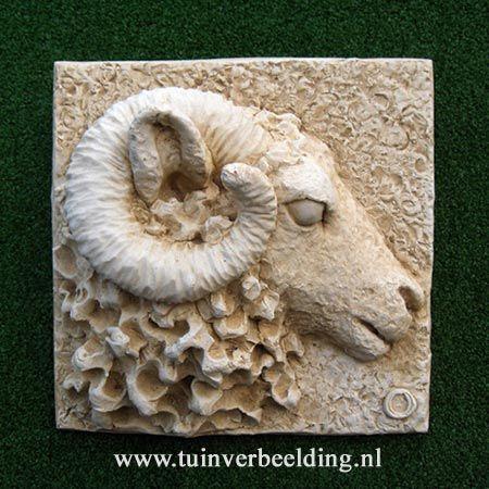 Mountain Ram In 2019 Skulptura Clay Tiles Pottery Art Bird