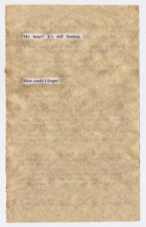 The Golden Notes  - a remix of Paul Austers book The Brooklyn Follies / by HANNE HVATTUM www.hannehvattum.com