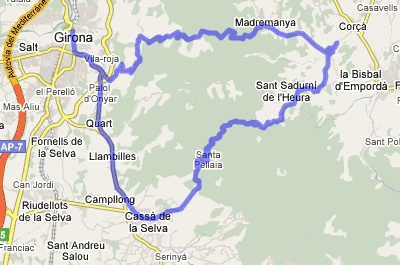 Garmin Slipstream Route