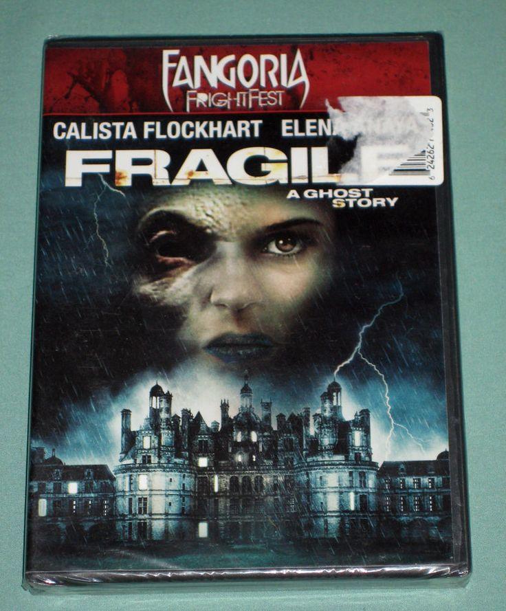 FRAGILE DVD horror FANGORIA 2005 movie NEW! (WS Eng) Calista Flockhart Supergirl   eBay