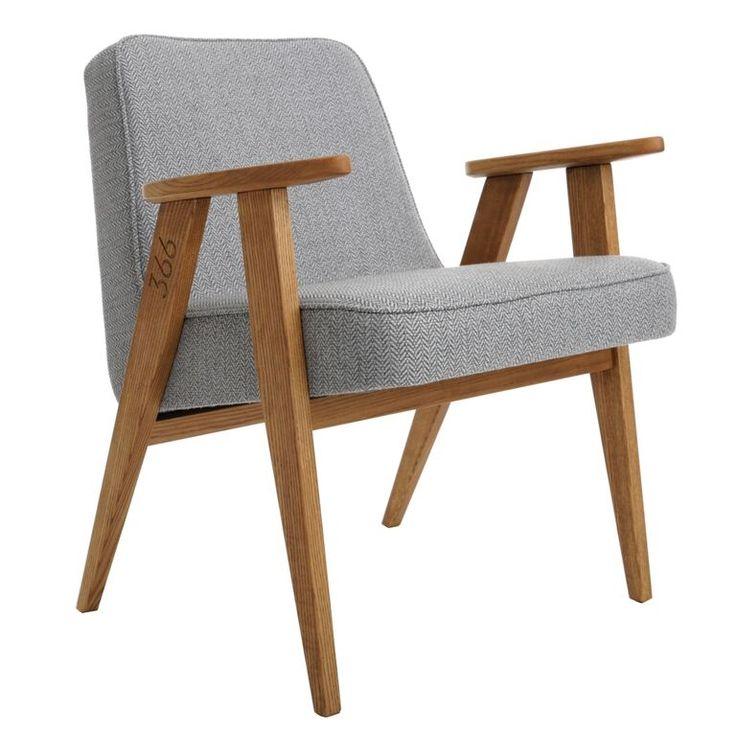 fauteuil 366 Jozef Chierowski 366 concept www.slavia-vintage.com