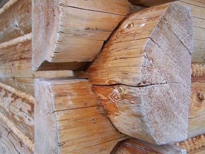 How to Build a Hand-Hewn Log Cabin