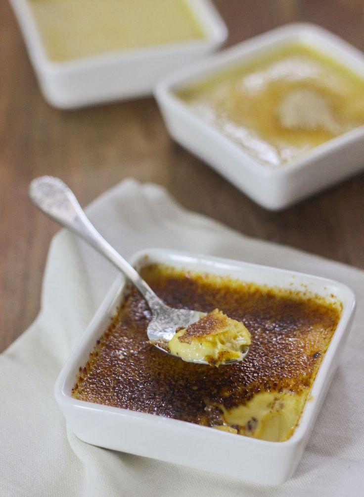 Crème brûlée à la vanille express
