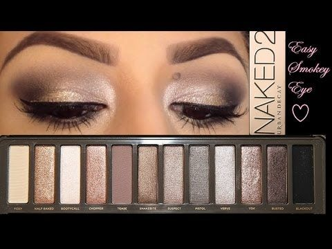 Smokey Eyes w/ Urban Decay Naked 2 Palette Tutorial