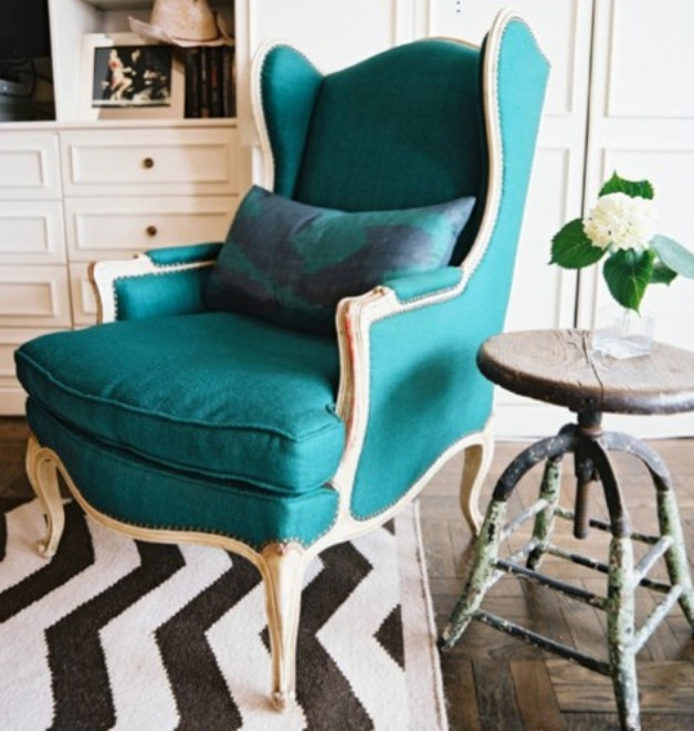 Love it!: Interior, Ideas, Turquoise, Chairs, Color, Living Room