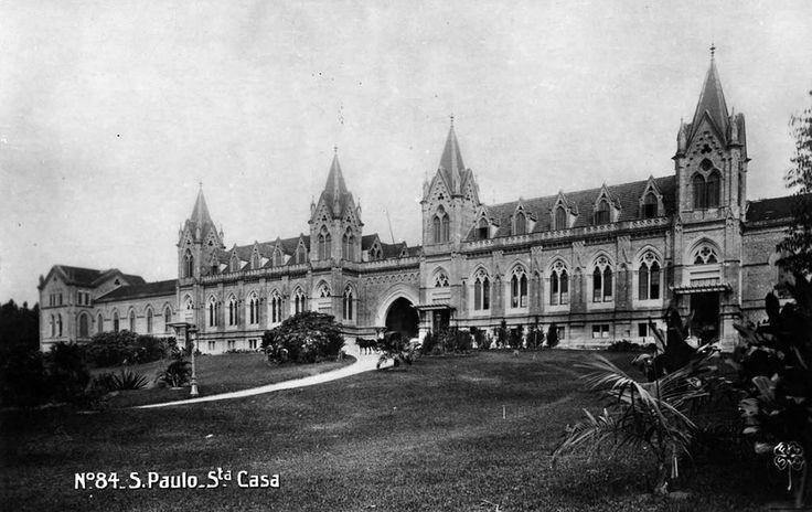 Santa Casa de São Paulo em 1905  A história de São Paulo está no São Paulo Antiga: www.saopauloantiga.com.br