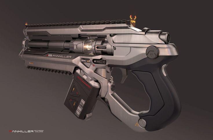 ArtStation - Painkiller Sci Fi Weapon, Alex Kryvolapov