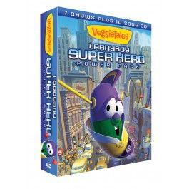 002 LarryBoy Super Hero Power Pack VeggieTales Super hero