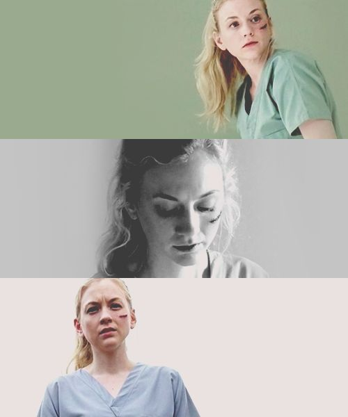 Beth Greene -   from sweet, delicate farm girl to kick-ass super chick thanks to being Hershel's daughter and learning some skills from Mr. Badass himself, Daryl Dixon