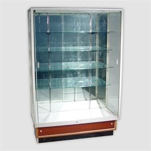 "FK Wall Case, glass wall display, Walnut wall display cabinets, Showcase for wall display 48""Lx20""Wx72""H Walnut @$475"