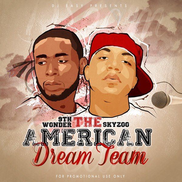 mixtape cover #djeasy #theamericandream #deks195