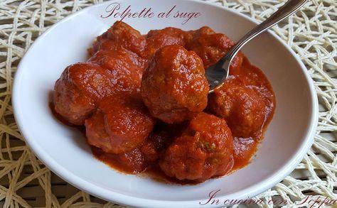 Le polpette al sugo sono un secondo piatto semplice e veloce, grazie alla cottura in pentola a pressione, Il sugo si può utilizzare per condire la pasta...