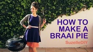 Ever considered making a braai pie? While the fire is going, amuse your friends with this hilarious video clip of @SuzelleDIY making a #braaipie. Here's the YouTube link: https://www.youtube.com/watch?v=caB5VTueduQ
