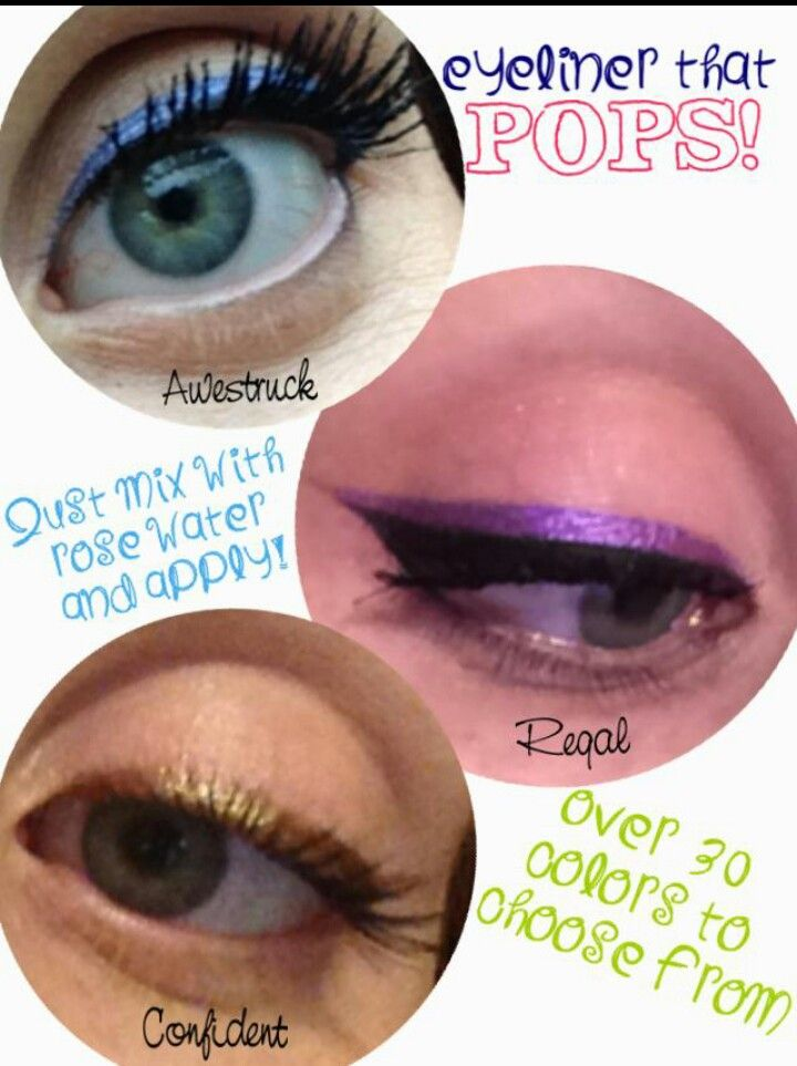 Rosewater with pigments to make eyeliner https://www.youniqueproducts.com/HollieJVlietstra