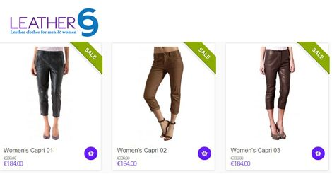 Browse our wide range of Women's Capri @ http://bit.ly/1CiatvQ #fashion #style #jacket #leather
