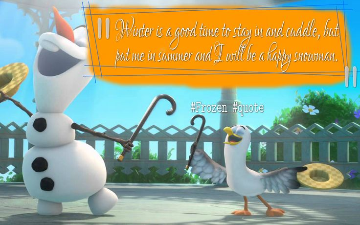 Let it come, let it go, let it flow. Have a great week everyone!   15 Unforgettable 'Frozen' quotes to kick-start your week!  #MondayMotivation #frozen #quote