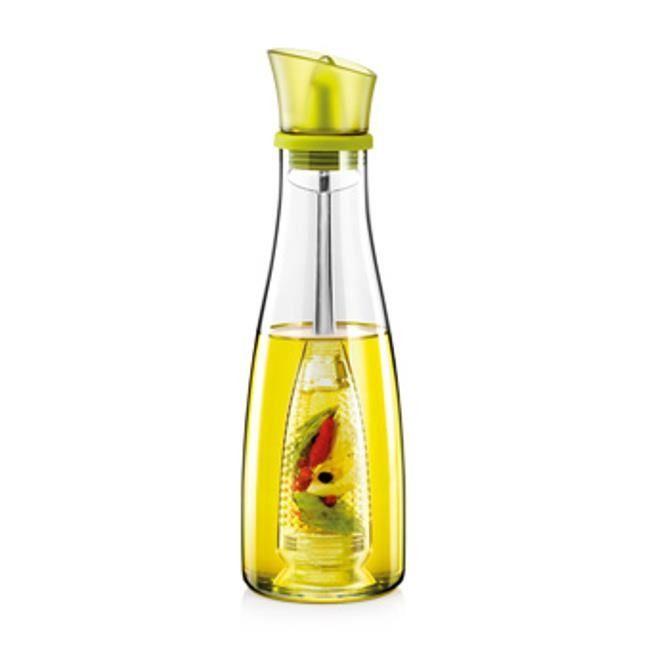 Szklany dozownik oliwy z wyjmowanym sitem - pojemność 500 ml    TESCOMA VITAMINO