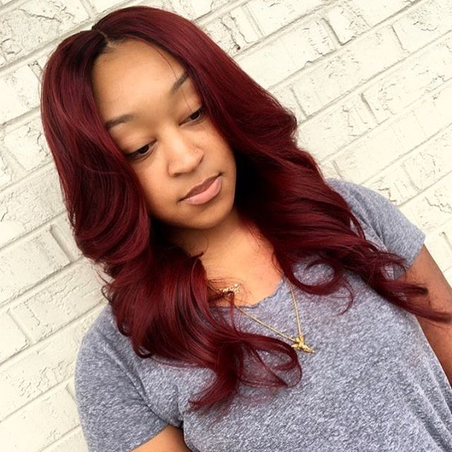 Sew In Hairstyle long curly sew in hairstyle Find This Pin And More On Sew In Hairstyles By Xrebelutionary