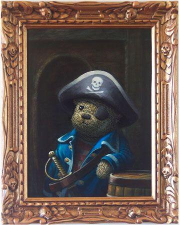 Pirate Teddy Bear by Rieko Woodford-Robinson