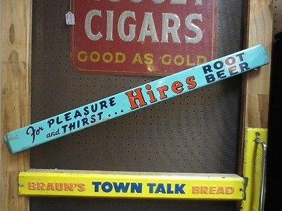 RARE-Vintage HIRES Root Beer Screen Door Push Advertisement Soda - 70 Best Old Advertising Signs Images On Pinterest A Frame Signs