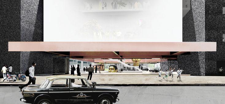 Mumbai City Museum Extension. OMA (2104)