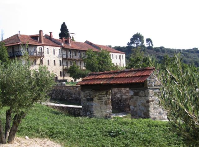hospital of Chromitsa now Tsantali guesthouse