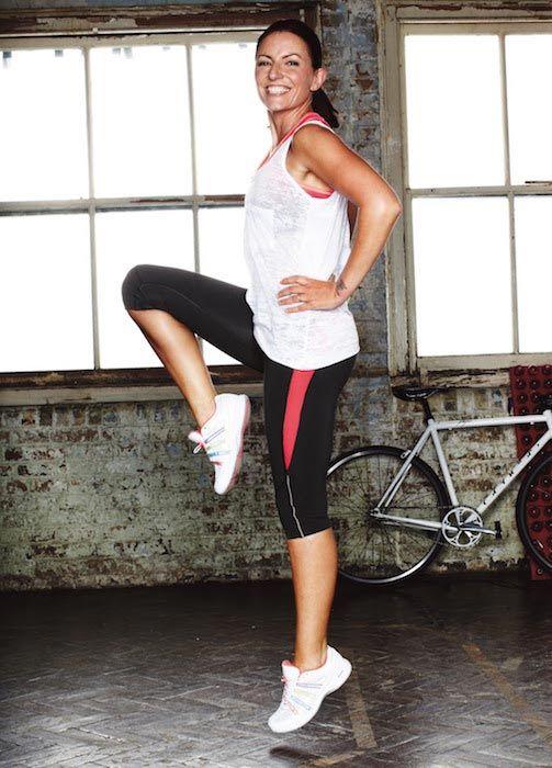 Davina McCall fitness...