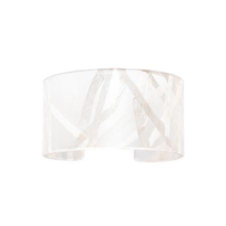 """1.5"""" White Silk Cuff"""