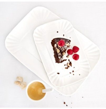 White Porcelain Trays by Seletti - kitchen & dining - house & home