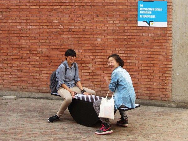 INTERACTIVE URBAN FURNITURE september, 2012 Urban generative objects and a workshopCCD  The Community - CAFA Media LabBeijing Design Week