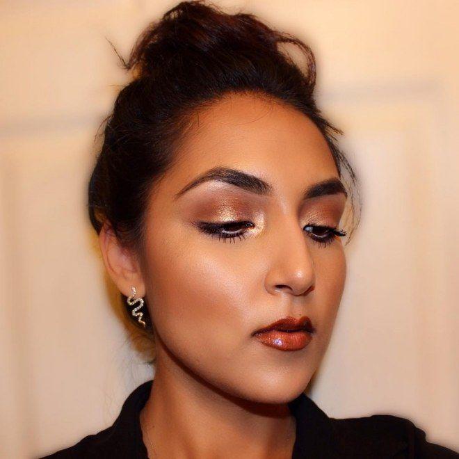 Consigue el look monocromático que triunfa en las alfombras rojas #makeup #monochrome #maquillaje #monocromatico #looks
