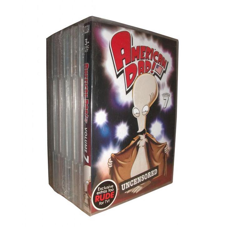 American Dad Seasons 1-7 DVD Boxset- $68.99