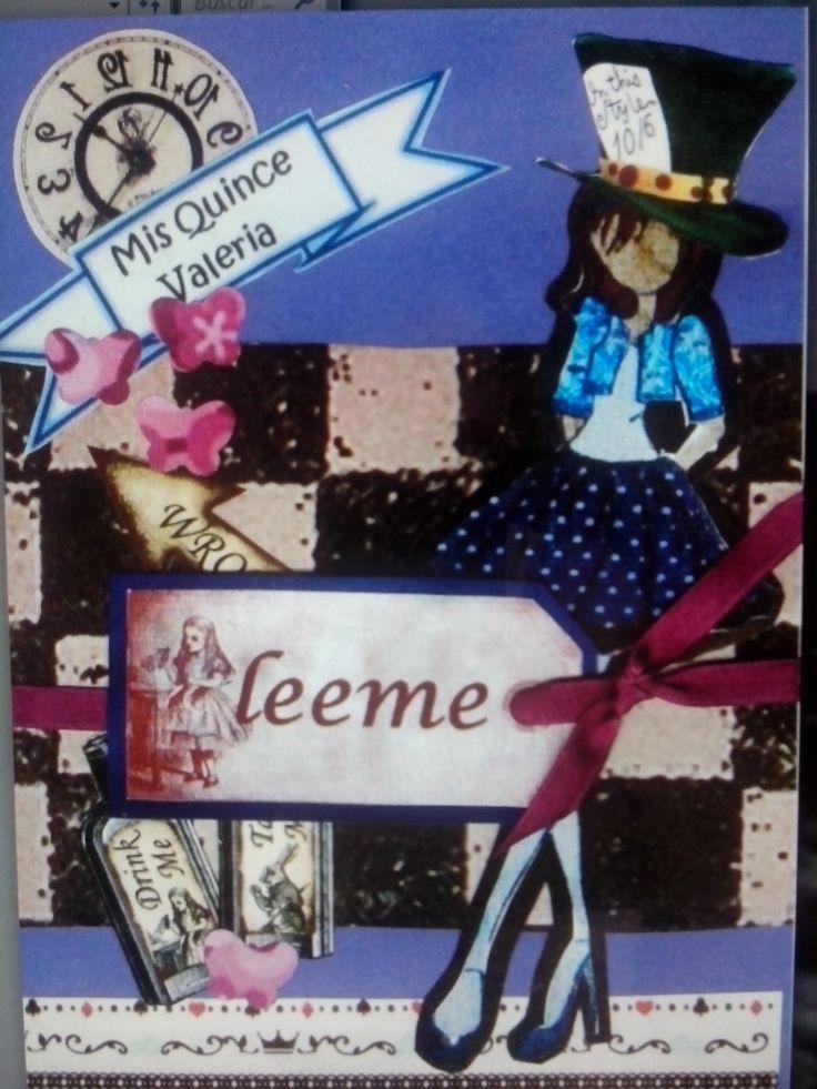 tarjeta de cumpleaños, los quince de mi hija