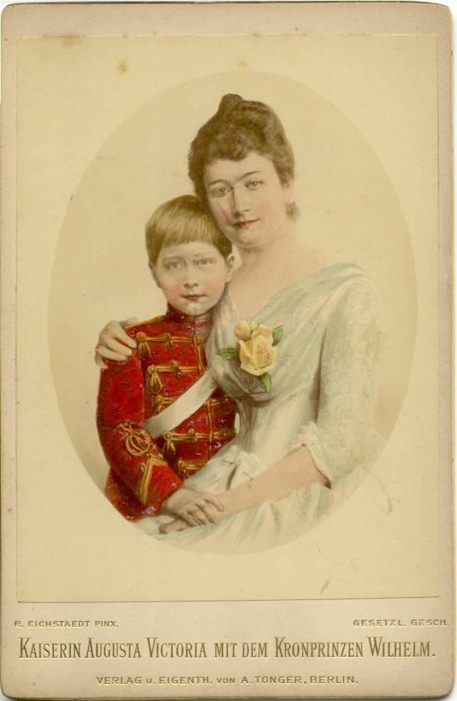 Augusta Viktoria and Crownprince Wilhelm