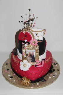 lekker zoet: Kimberly en Sabrina 21 jaar, een Chanel taart...