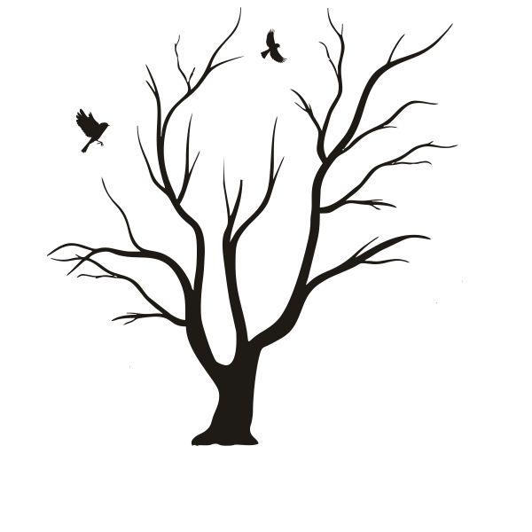Arboles sin hojas buscar con google ramitas secas - Dibujos faciles para paredes ...