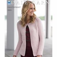 Enkel raglan jakke / cardigan - 28605