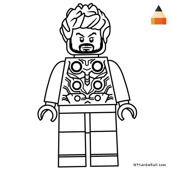get 42 dibujos para colorear de los vengadores de lego