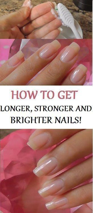 5 Möglichkeiten, Ihre Nägel gesund und schön zu machen   – Nail Ideas
