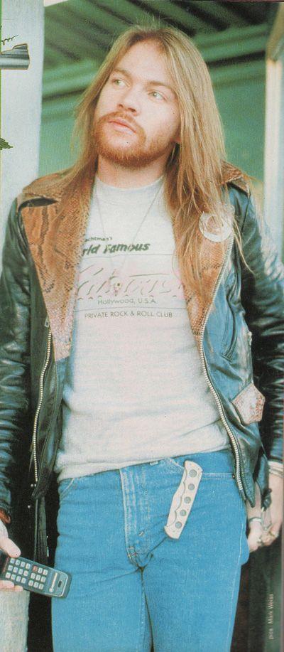 Axl Rose, Guns N' Roses - Metal Hammer